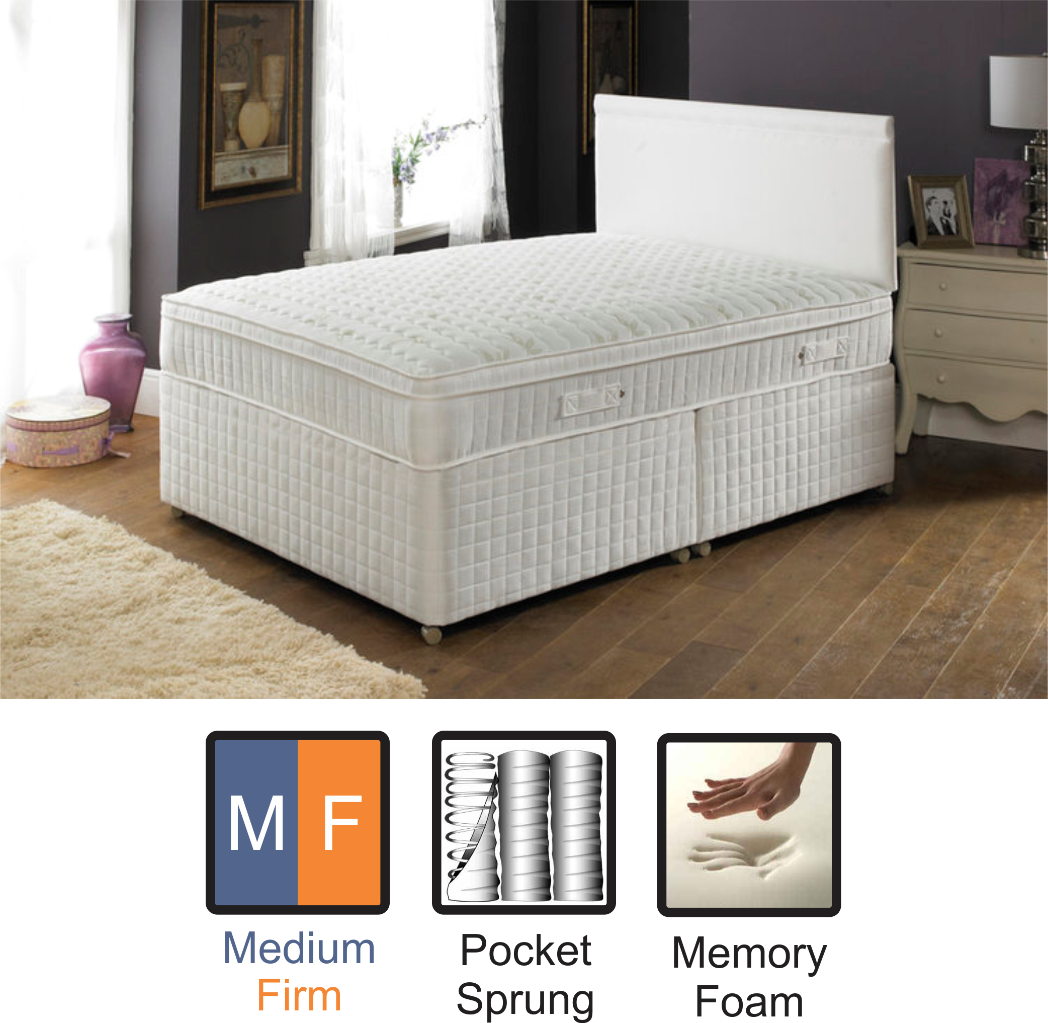 collection beds mattress bed does to images make and boxspring how need outstanding platform firmer a